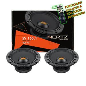 Paire Hertz Sv 165.1 Haut-Parleurs Milieu de Gamme Spl 400W 16,5CM