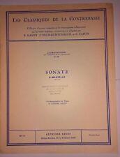 Les Classiques de la Contrebasse - No. 39. Sonate pour Contrebasse et Piano