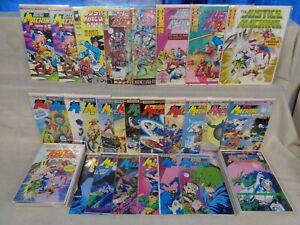 Justice Machine MEGA SET! Nobel, Comico, more! 54 Comics (b 22350)