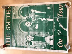 Original the Smiths Queen is dead on tour giant poster 55 x 40 inches