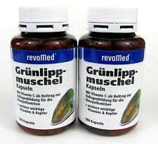 Vitaminkapseln mit Muschel-Konzentrat 2 x 180 Kapseln revomed Muschelkonzentrat