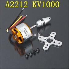 A2212-1000KV Outrunner Brushless Motor For RC Glider Helicopter Aircraft New US