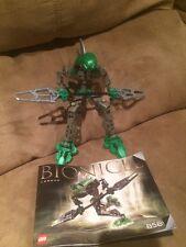 LEGO Bionicle Rahkshi Lerahk Set #8589,100%Complete W/manual & Kraata Retired