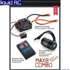 Hobbywing 38010401 Max8 Esc Combo W/ Ezrun 2200kv Motor TRX Plug