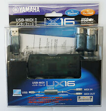 Yamaha UX16 USB-MIDI Converter (Cable) UX-16 Interface (Brand New in Package)