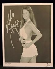 KELLI TYLER ADULT FILM STAR SIGNED 8 X 10 PHOTO FOR BLUE STEEL SUPPLEMENTS COA