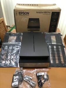 Epson Perfection V850 Pro Flatbed Photo Scanner including all software.