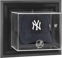 Yankees Black Framed Wall- Logo Cap Display Case - Fanatics