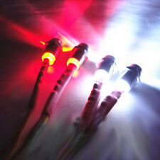 4pcs LED Night 5mm&3mm Headlamps Head Tail lights For RC 1:10 On-Road Car Futaba