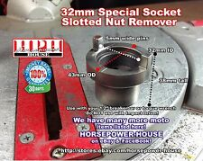 32mm SOCKET REMOVE HONDA MOTORCYCLE CLUTCH NUT VTR1000F RVT1000R ST1300 CBR1000R