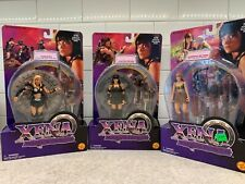 Warrior Xena Princess, Callisto and Gabrielle action figure lot 1998 ToyBiz