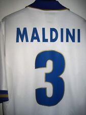 #3 Paolo MALDINI maglia trikot Italia away Euro 1996 Nike Milan Shirt Italy (L)
