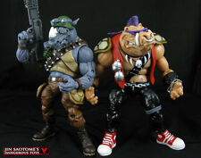 Playmates Ninja Turtles Classic Collection Rocksteady & Bebop Action Figure 2pcs