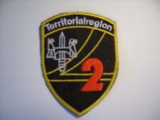 Schweizer Armee 21 Aufnäher Territorialregion 2 ca 9 x7 cm