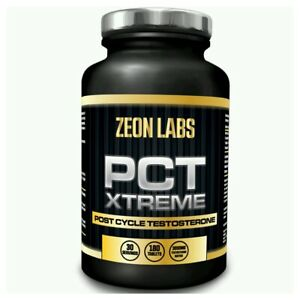 ZEON LABS *PCT POST CYCLE TESTOSTERONE* *STRONGEST LEGAL PCT TEST BOOSTER* SALE!