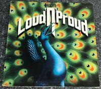 LP NAZARETH~LOUD N PROUD~CREST 4 VINYL ALBUM 1ST UK PRESS EX/EX