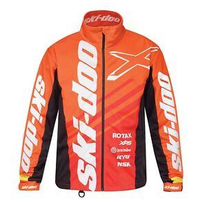 Ski-Doo Snowmobile Racing Jacket Orange 44088112