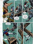 BATMAN MASTER OF THE FUTURE Pg #54 HAND COLORED PRINT GUIDE Barreto, Steve Oliff