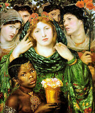 "The Beloved by Dante Rossetti 8x10"" Canvas Giclee Print or A3 Fine Art Poster"