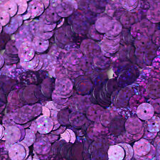 8mm Flat SEQUIN PAILLETTES ~ VIOLET PURPLE Laser MULTI  HOLOGRAM ~ Made in USA.