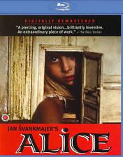 Jan Svankmajer's Alice Blu-ray Region A English Dub