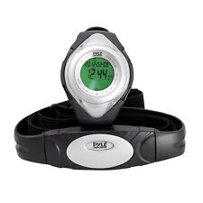 New Pyle Sports PHRM38SL Heart Rate Monitor Watch,Calories, Target Zones, Silver