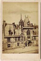 Francia Palais Jacques Cuore Bourges Foto Vintage Albumina c1880