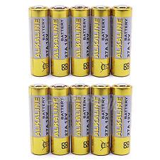 10 Pcs 27A 12V MN27 GP27A L828 R27A MS27 CA22 Alkaline Battery For Remote Alarm