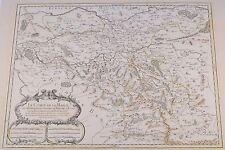 Le Comté de la Marck Map Jaillot Sanson 1693 Orig Kupferkarte Mark Dortmund