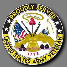 "Army Veteran Decal Sticker 4"""