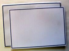 Trauerkarten Briefkarten mit Trauer Kuvert weiß Karten Briefumschläge