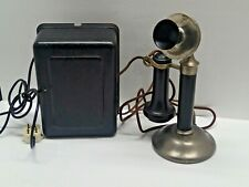 Antique Stromberg Carlson Candlestick Telephone Western Electric 634A Ringer