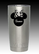 YETI Rambler 20 oz Mickey Minnie Mouse cup tumbler engraved personalized