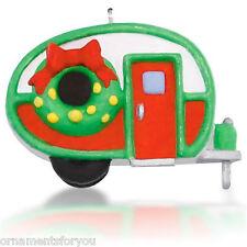 Hallmark 2015 Cozy Birdhouse Camper Miniature Christmas Ornament