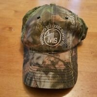 VTG Minnesota Electric Supply Woodland CAMO Camouflage adjustable hat cap
