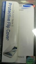 Samsung OEM Case Flip Cover  For Galaxy Note 2 II White - New - Free Shipping