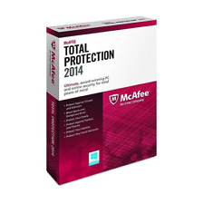 Mcafee Total Protection 1PC 1 Year 2014 MTP14EWD1RAA