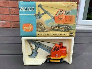 Corgi 1128 Preistman Luffing Shovel In Its Original Box - Excellent Vintage