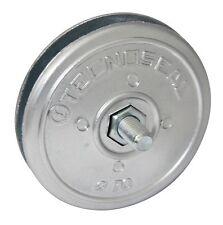 70mm dia x(2x6.5) Zinc Twin disc anode for rudders/trim tabs (inc bolt) Free P&P