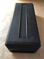 Vintage 1980s Posso Media Black Cassette Tape Box Case - EXCELLENT CONDITION
