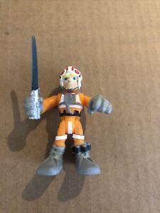 Star Wars Galactic Heroes - Luke Skywalker (Pilot) - Hasbro 2011