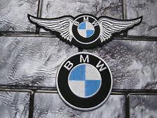 2x ricamate BMW aufbügler Patch Motorcycles Motorcross motorradcross Biker-MC GT