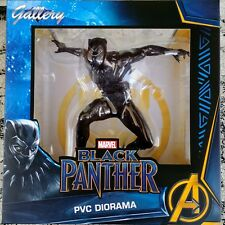 BLACK PANTHER Statue Marvel Movie Gallery Diorama Figure by Diamond Select 2018