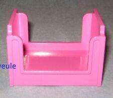 Lego Duplo Puppenhaus Bett hoch pink  für Schlafzimmer Kinderzimmer Bunk Bed
