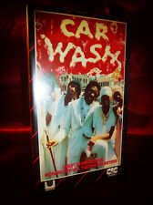 Rare OOP CAR WASH VHS Richard Pryor, Pointer Sisters, George Carlin 92 mins Cult