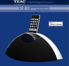 TEAC SR-80i DAB NEU Schwarz  Radio mit UKW/DAB/DAB+ iPhone-Dock USB AUX SR80iDAB
