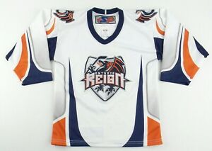 Vintage SP ECHL Minor League Ontario Reign Hockey Jersey Size Youth S/M