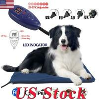 Pet Puppy Dog Cat Kitten Warm Electric Heat Pad Blanket Heating Bed Mat Blanket