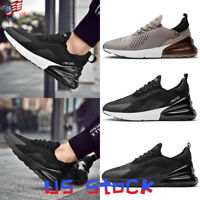 Men Athletic Sneakers Casual Sports Walking Running Tennis Shoes Breathable US