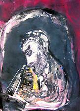 "Arthur Secunda ""Bill Evans,"" 2010 Color Monotype"